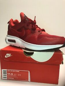 NEW Men's NIKE AIR MAX PRIME Athletic Sneaker Red  Size 11.5