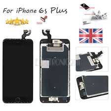 "For iPhone 6S Plus 5.5"" LCD Black Touch Screen Digitizer Home Button & Camera US"