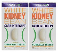 Natrol Carb Intercept With Phase 2 1000mg 60 Capsules (2 Pack)