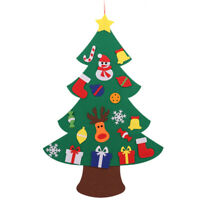 Felt Christmas Tree for Kids 3.2Ft Diy Christmas Tree with Toddlers 18Pcs O G8P7
