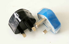 SINGLE USB MAINS PLUG 5V 1A CHARGER TWIN PACK TWO FOR THE PRICE OF ONE