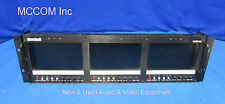 "Marshall Electronics V-R63P-SDI Triple 5.8"" Widescreen LCD Monitor  AS IS"