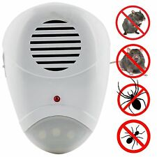 Anti Insect Electric Ultrasonic Pest Repeller Plug In Mice Mouse Rat Rodent Ant
