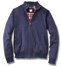 MENS BLUE HARRINGTON STYLE COAT JACKET GENUINE VW BEETLE COLLECTION MERCHANDISE