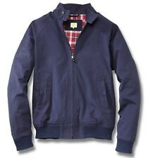 Mens Blue Harrington Style Coat Jacket Genuine VW Beetle Collection Merchandise XL 5c0084002d274