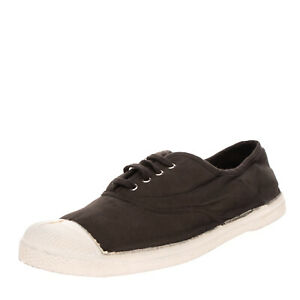 BENSIMON TENNIS Sneakers Size 43 UK 9 US 10 Worn & Dirty Look Lace Up Round Toe