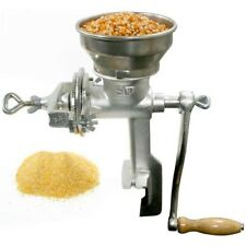 Corn Coffee Bean Nuts Grain Grinder Cast Iron Food Mill Kitchen Tool Table Mount