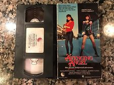 Avenging Angel VHS! Awesome 1985 Thriller! (See) Motel Hell Black Spurs & Scum