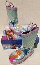 Kid Girls Western Chief Disney Frozen Anna Elsa Toddler Size US 9M Rain Boot NIB