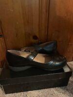 Comfort Plus 162683 WW CARLA Black Women's Ballet Flats Shoes Size 7W NWB