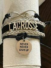 Lacrosse Bracelet- Girls Lacrosse Bracelet- Lacrosse Jewelry - Lacrosse Gifts
