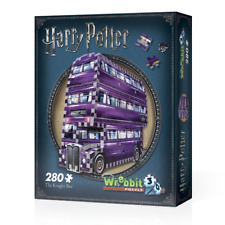 WREBBIT 3D JIGSAW PUZZLE HARRY POTTER THE KNIGHT BUS 280 PCS  #W3D-0507