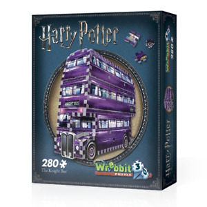 WREBBIT 3D JIGSAW PUZZLE HARRY POTTER THE KNIGHT BUS 280 PCS  #W3D-0507