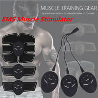 EMS Trainer Electric Muscle Stimulator Wireless  Abdominal 6 modes Rechargeable