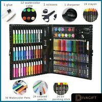 Kids Colouring Set Drawing Set 50-208PCS Art Case Pencils Painting Childrens