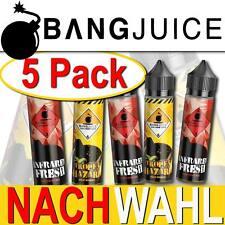 Bang Juice E-Zigaretten Liquid Aroma im 5er Pack Alle sorten BangJuice