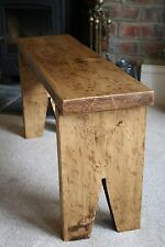 Rustique Pin Mini Bench, Ferme de STYLE, Shabby Chic, extra Seating-Handmade