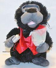 "TEKKY TOYS Singing Dancing Gorilla 8"" Soft 2010 Dream Lovers Plush Stuffed"