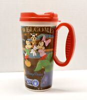 Disney Parks Rapid Fill Coffee Drink Mug Mickey Minnie Donald Goofy & Pluto Cup