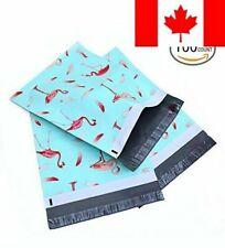 Ohuhu 10x13 100-Pack Flamingo Designer Poly Mailers Christmas Shipping Envelo...