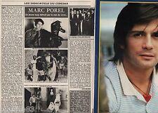 Coupure de presse Clipping 1983 Marc Porel   (4 pages)