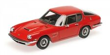 Maserati Mistral Coupe' 1963 Red 1:43 Model MINICHAMPS