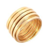 PETRAI Ring, 925 Sterling Silber, Gr. 56 / 17,8 mm, vergoldet, NEU mit OVP, PR25