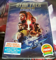 Star Trek Discovery Season 2 (DVD, 4-Disc Set) Free Shipping New & Sealed Us RG1
