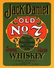 JACK DANIELS STICKER, 14.5cm x 9cm, Magnet Available, Free Aus Post