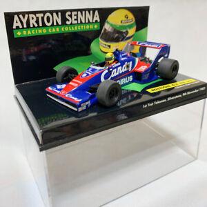 MINI CHAMPS 1:43 AYRTON SENNA COLLECTION 1st Test Toleman Silverstone 9 Nov 1983