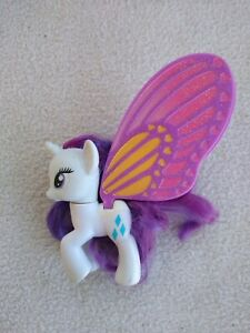 My Little Pony Rare G4 Rarity Glimmer Wings Butterfly 2011