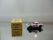 1993 Matchbox Chevy Corvette Grand Sport MB 2 - The Widow - Mint W/ Box 1/58