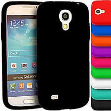 Plain Soft Silicone Rubber Gel Skin Case Cover for Samsung Galaxy S4 Mini i9190