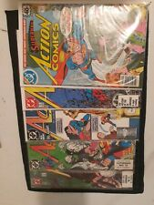 Action Comics lot #490, 585, 600, 648, 662 high grade collectors DC CGC ready