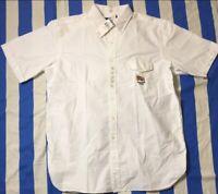 Polo Ralph Lauren Big Tall Mens White USA Flag Button-Front Shirt NWT XLT