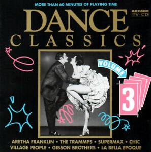 Dance Classics Vol. 3 (Chic/Supermax/Real Thing/Ottawan) CD ARCADE 1992
