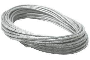 Paulmann Seilsystem - Wire System Light&Easy Sicherheits-Spannseil isoliert 12m