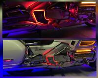 Pads on the frame, with led backlight Honda goldwing 1800 Gold Wing GL1800