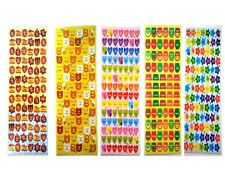 K Style 5 Sheets of Korean Hangul Cute Design Daily compliment Stickers Set Gift