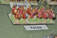 25mm classical / macedonian - pikemen 12 figures - inf (42060)
