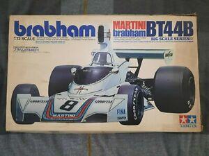 Tamiya #12018 1/12 Martini Brabham BT44B 1975