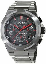 Hugo Boss 1513361 Supernova Chronograph grau 46mm 5atm