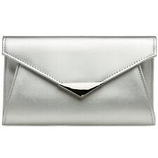 CASPAR TA363 stylische elegante Damen XL Briefumschlag Clutch Tasche Abendtasche