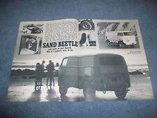 "Vintage Volkswagen Custom Bus Article ""Sand Beetle"" VW Panel Transporter"