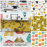 DASHWOOD Cool for cats 100% cotton fabric for sewing/craft sold per half metre