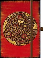 Notizbuch Tage Buch Gecko Cirkel 12x18cm Diary Tagebuch