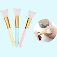 3 Pcs Silicone Facial Face Mask Mud Mixing Skin Care Applicator Makeup Brushes