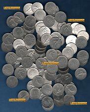 G Lot de 100 pièces de 1 Franc Semeuse TB à SUP - Vème République, 1959-