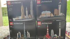 LEGO LOT 4 GROSSES BOITES ARCHITECTURE neuves sous blister