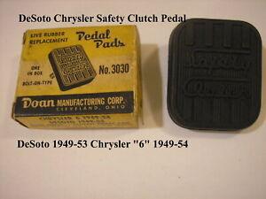 1949 -1954 Dodge DeSoto Chrysler Safety Clutch Pedal